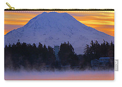 Carry-all Pouch featuring the photograph Fiery Dawn by Tikvah's Hope