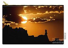 Fiery Desert Sky Carry-all Pouch