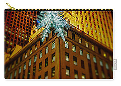 Carry-all Pouch featuring the photograph Fifth Avenue Holiday Star by Chris Lord