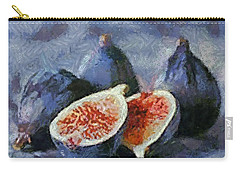 Carry-all Pouch featuring the painting Figs by Dragica  Micki Fortuna