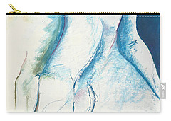 Figurative Abstract Carry-all Pouch