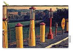 Fill 'er Up Vintage Fuel Gas Pumps Carry-all Pouch