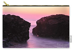 Fine Art Water And Rocks Carry-all Pouch