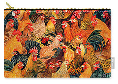 Fine Fowl Carry-all Pouch