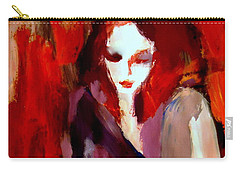 Carry-all Pouch featuring the painting Finesse by Helena Wierzbicki