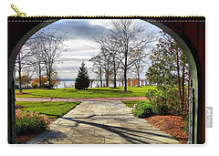 Finger Lakes View From Mackenzie Childs  Carry-all Pouch