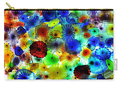 Fiori Di Como By Glass Sculptor Carry-all Pouch by Gandz Photography