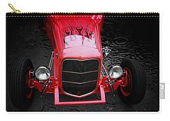 Classic Cars Carry-all Pouch featuring the photograph Fire And Water by Aaron Berg