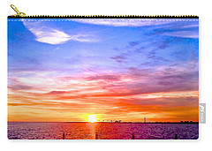 Carry-all Pouch featuring the photograph Fire And Water by Dee Dee  Whittle