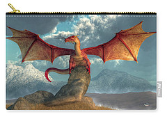 Fire Dragon Carry-all Pouch