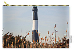 Carry-all Pouch featuring the photograph Fire Island Tower by Karen Silvestri