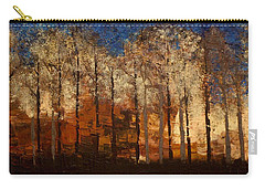 Fire On The Mountain Carry-all Pouch by Linda Bailey