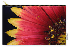 Carry-all Pouch featuring the photograph Fire Spokes by Paul Rebmann