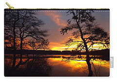Sunrise Fire Carry-all Pouch by Dianne Cowen