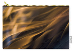 Carry-all Pouch featuring the photograph Fire by Yulia Kazansky