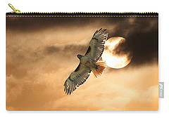 Carry-all Pouch featuring the photograph Firebird by Jim Garrison