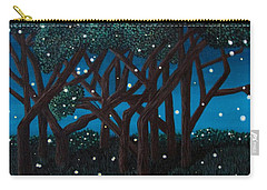 Fireflies Carry-all Pouch by Cheryl Bailey