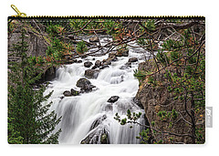 Firehole River Waterfall Yellowstone Np Carry-all Pouch
