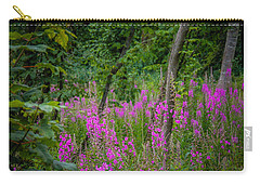 Fireweed In The Irish Countryside Carry-all Pouch