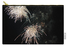 Carry-all Pouch featuring the photograph Fireworks 3 by Susan  McMenamin