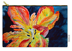 Carry-all Pouch featuring the painting Fireworks by Beverley Harper Tinsley