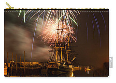Fireworks Exploding Over Salem's Friendship Carry-all Pouch by Jeff Folger
