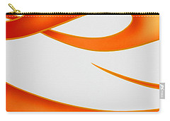 Carry-all Pouch featuring the photograph Firey Orange by Joe Kozlowski
