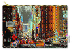 First Avenue - New York Ny Carry-all Pouch
