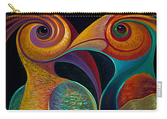 First Flight 1 Carry-all Pouch by Claudia Goodell