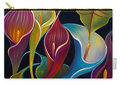First Flight Triptych - Unframed Carry-all Pouch by Claudia Goodell