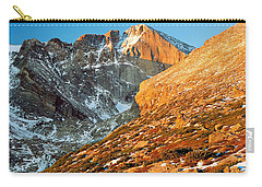 First Light At Longs Peak Carry-all Pouch