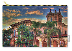 Carry-all Pouch featuring the photograph First Morning Glow by Gary Holmes