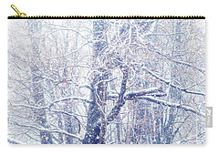 First Snow. Dreamy Wonderland Carry-all Pouch