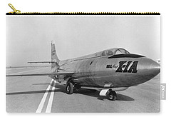 Carry-all Pouch featuring the photograph First Supersonic Aircraft, Bell X-1 by Science Source