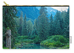 Fish Creek In Tongass National Forest By Hyder-ak  Carry-all Pouch