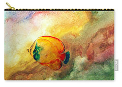 Carry-all Pouch featuring the photograph Fish In The Sea by Athala Carole Bruckner
