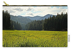 Fish Lake - Open Field Carry-all Pouch by Laddie Halupa