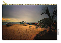 Fish Or Cut Bait Carry-all Pouch by Robert McCubbin