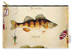 Fish Trio-c Carry-all Pouch by Jean Plout