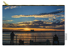 Fishermen Morning Carry-all Pouch by Tammy Espino