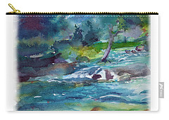 Fishin' Hole 2 Carry-all Pouch by C Sitton