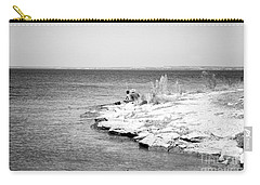 Carry-all Pouch featuring the photograph Fishing by Erika Weber