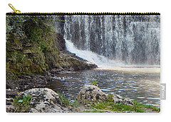 Carry-all Pouch featuring the photograph Fishing Hole by Deb Halloran