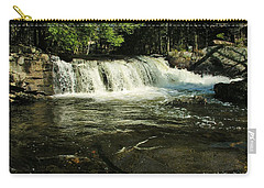 Carry-all Pouch featuring the photograph Fishing Hole by Sherman Perry
