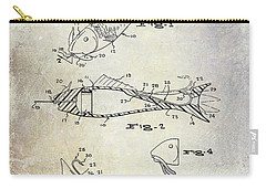 Fishing Lure Patent 1959 Carry-all Pouch by Jon Neidert