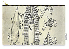 Fishing Lure Patent  Carry-all Pouch by Jon Neidert
