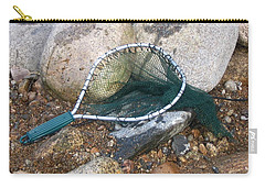 Fishing Net Carry-all Pouch by Kerri Mortenson