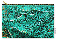 Fishing Nets Carry-all Pouch by Jane McIlroy