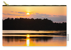 Fishing On Golden Waters Carry-all Pouch