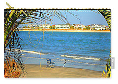Fishing Paradise At The Beach By Jan Marvin Studios Carry-all Pouch